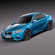 宝马汽车3D模型3d模型