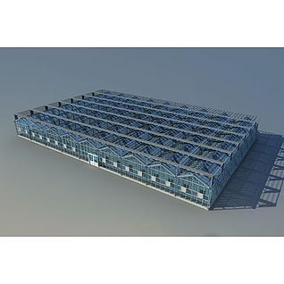 蔬菜大棚3d模型