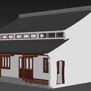 古建房子3d模型