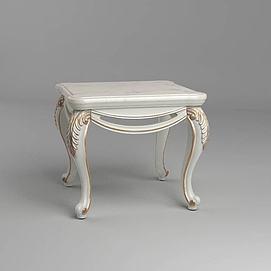 欧式凳子模型