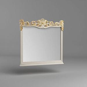 欧式镜子模型