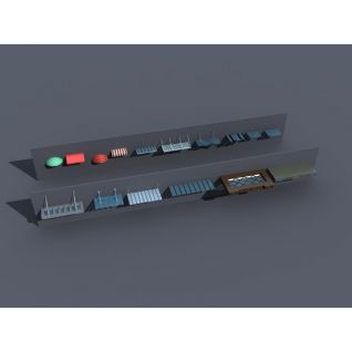 雨棚3d模型3d模型