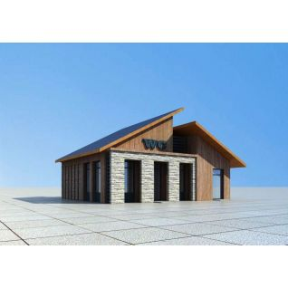 景区厕所3d模型3d模型