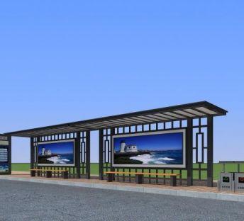 公交候车站