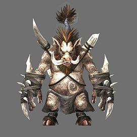 游戏素材怪物3d模型
