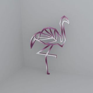 鸵鸟装饰品3d模型