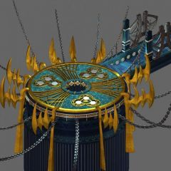 游戏场景模型3d模型