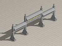 牌楼3d模型