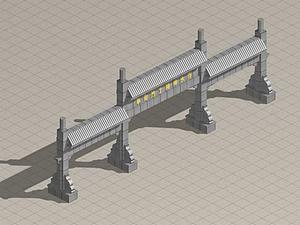 3d牌樓模型