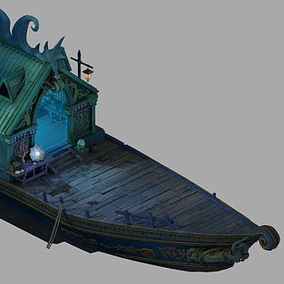商船3d模型