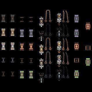 游戏道具3d模型