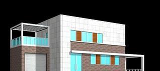 民宅别墅3d模型