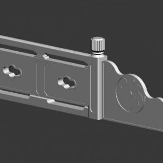 古典石栏杆3d模型