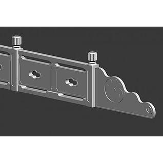 古典石栏杆3d模型3d模型