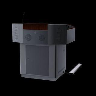 演讲台3d模型