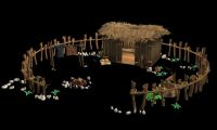 茅草院子3d模型