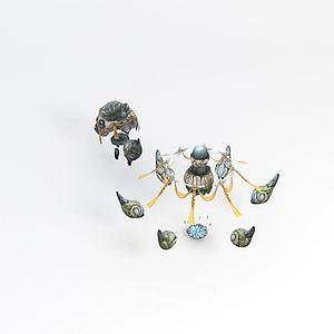 游戏场景模型