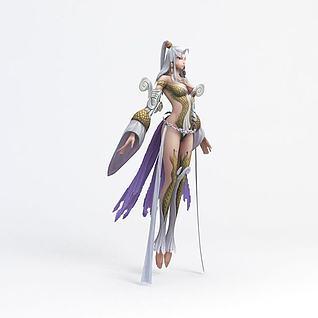 仙姑3d模型