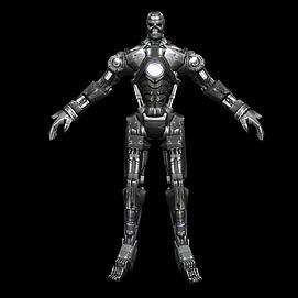 3d<font class='myIsRed'>机器人</font>模型