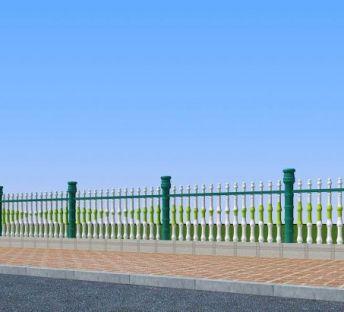 铁艺竹节围栏