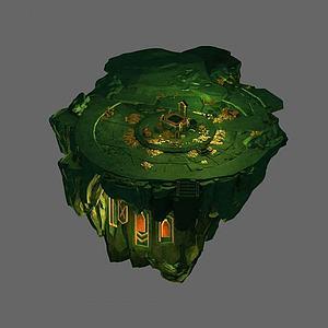 游戏场景3d模型