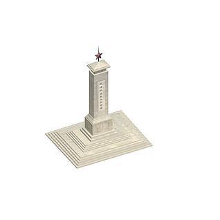 纪念碑3d模型3d模型