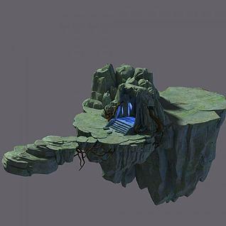 游戏传送门3d模型
