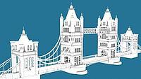 伦敦大桥3d模型