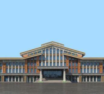 蒙族文化馆