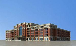 欧式教学楼主楼3d模型