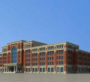 欧式教学楼主楼