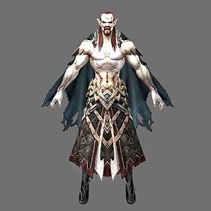 3d游戏角色怪物模型