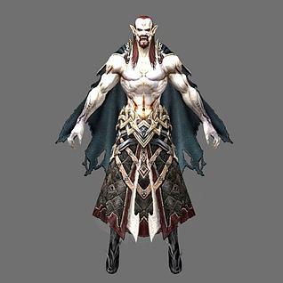 游戏角色怪物3d模型