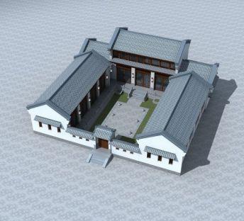 中式四合院
