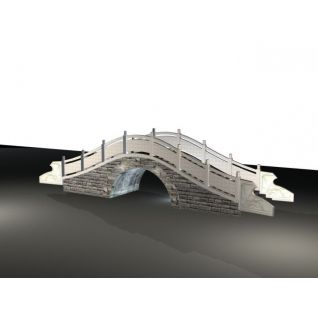 石拱桥3d模型