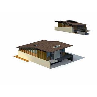 小别墅3d模型3d模型