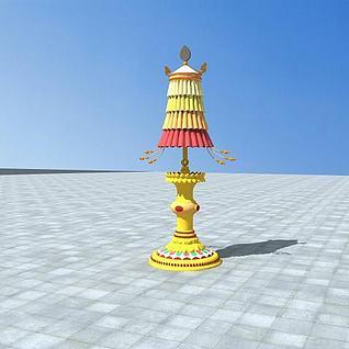 藏族小品3d模型