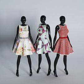 服装店模特模型
