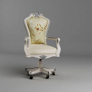 高档欧式转椅3d模型