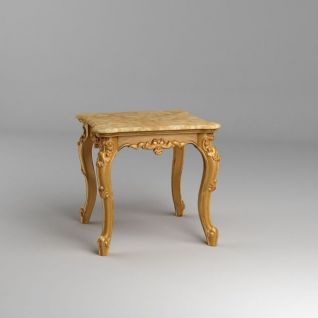 欧式凳子3d模型