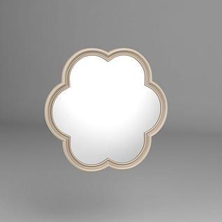 花形镜子3d模型