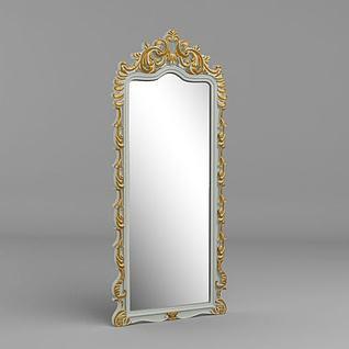 穿衣镜3d模型