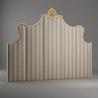 床头板3d模型