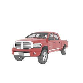 3d卡车模型