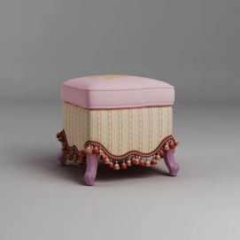 沙发凳模型