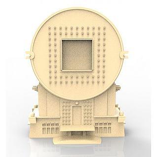 沈阳方圆大厦3d模型