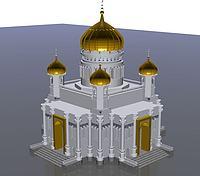 宁夏清真寺3d模型
