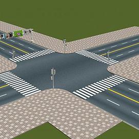 十字路口模型