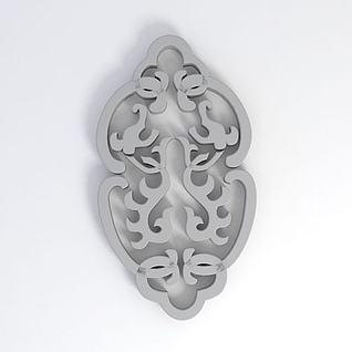 花纹3d模型