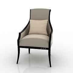 单人椅模型3d模型